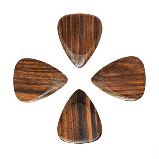 Timber Tones Macassar Ebony 4 Guitar Picks